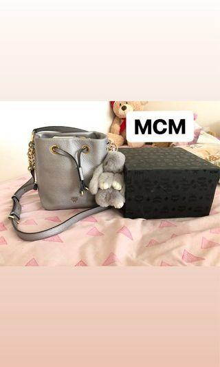 Authentic MCM Bucket Bag ( Limited Edition)