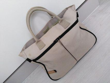 🚚 Used canvas fabric hand-carry bag