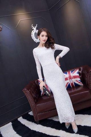 🚚 🌟INSTOCK🌟 woman lace white dress  Dinner Dress