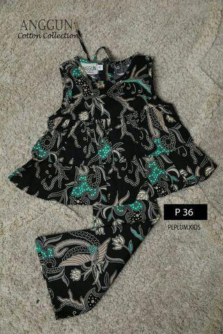 ANGGUN PEPLUM KIDS DOUBLE LAYER - PO