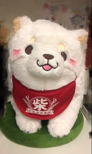 日本 🇯🇵 白 柴犬 忠犬 狗 公仔