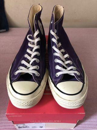 Converse first string purple hi