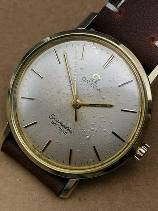 古董 Omega 135.020 手上弦包金手錶