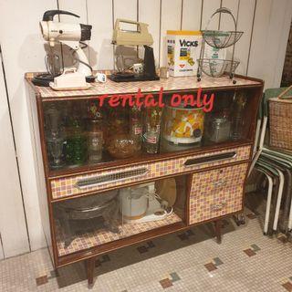 1960s, 70s vintage kitchen props rental