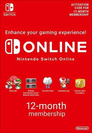 Nintendo Switch Online Family Plan