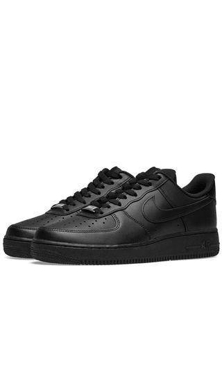 🚚 Nike Air Force Black (All size available)
