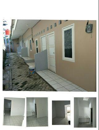 Kontrakan bangunan baru bintaro