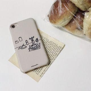 iPhone 7/7s Inthemoodfor Memories for Breakfast Phone Cover