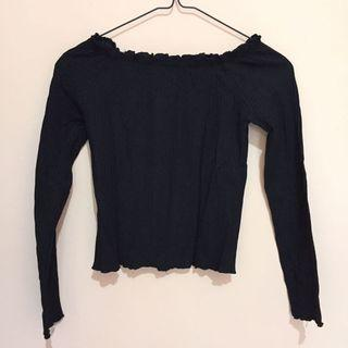 Black Blouse Sabrina