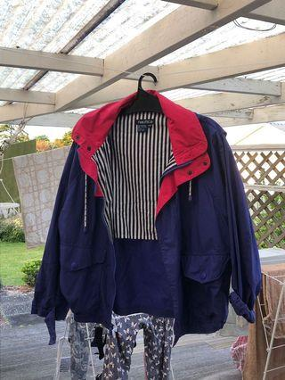 Nautica bomber jacket style wind breaker