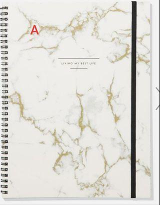Typo Notebook (A4 Size)