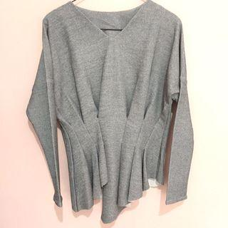 NEW Grey Blouse