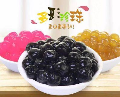 Supplier for tapioca Pearls - honey pearls, golden bubble, cherry pearls, black pearls