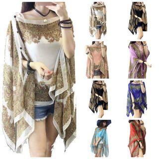 Baju Shawl Batik Silk