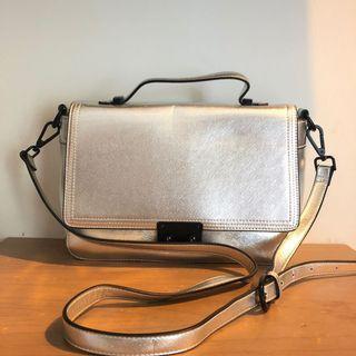 Topshop sling bag ( hologram )