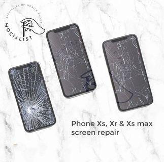 Get Fix iPhone repair! IPhone XR, iPhone XS, iPhone XS Max.