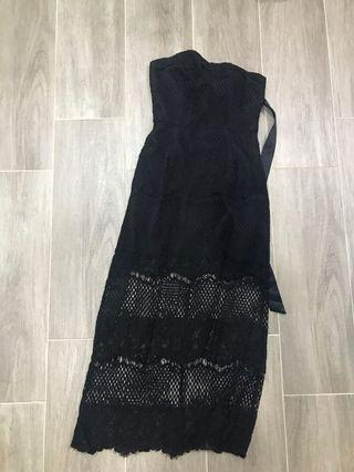🚚 Mds Black Lace Dress