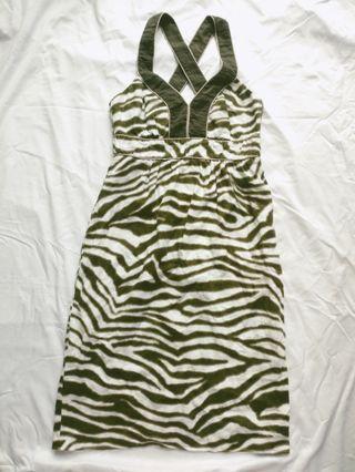 Banana republic linen dress with side pockets 背心連身裙 棉麻