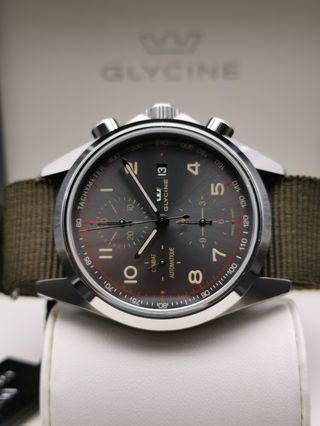 🚚 LNIB Glycine Combat chronograph