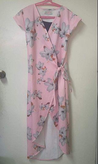 Wrap Nursing Dress