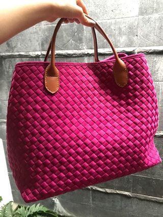 Webe Bag Authentic ( Fuschia )