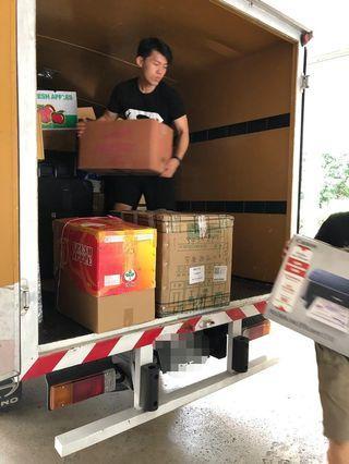 Lori sewa 2tan rent pindah barang lorry rental transport mover klang valley