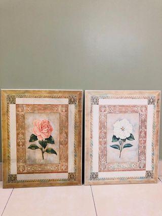 Set of 2 paintings