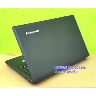 全新240SSD 天M模擬器多開 LENOVO G580 i7-2820QM 8G DVD 15吋筆電 聖發二手筆電