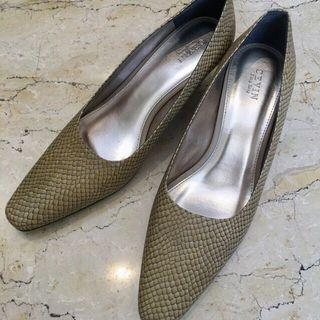 Faux Snakeskin shoes