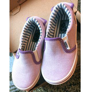 全新 日版 Vans Kids Shoes V98CJ Oxford Slip On 便服鞋 布鞋 EUR28 US11 17cm 幼童 兒童便服鞋 体閒鞋
