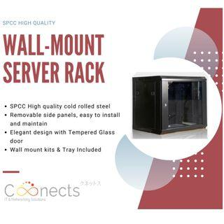 Server Rack 6U 9U 12U With Wall Mount Kits