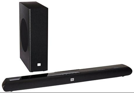 BNIB JBL SB150 Soundbar Cinema 2.1 Home Theatre System with Subwoofer