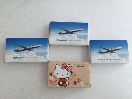 🚚 Eva Airline Limited Edition Poker Cards ♦️