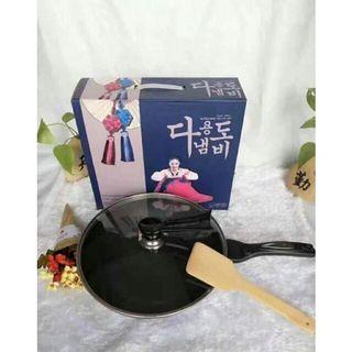 🚚 韓國麥飯石不沾炒鍋3件組(32cm)