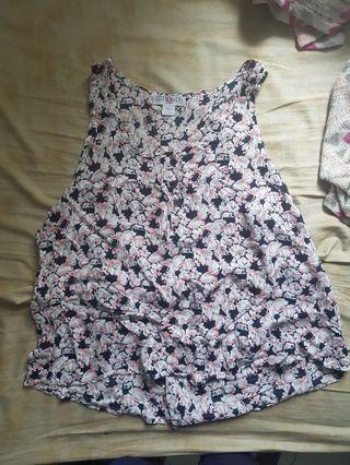 cotton on floral summer top