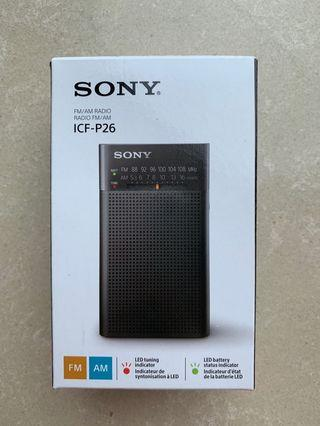 Sony DSE 收音機