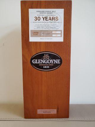 Glengoyne 30年 2017舊版 限量6000枝 格蘭 哥尼 威士忌 蘇格蘭 Whisky