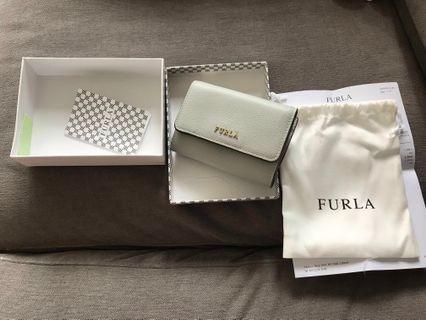 Furla wallet (淺藍/灰藍)