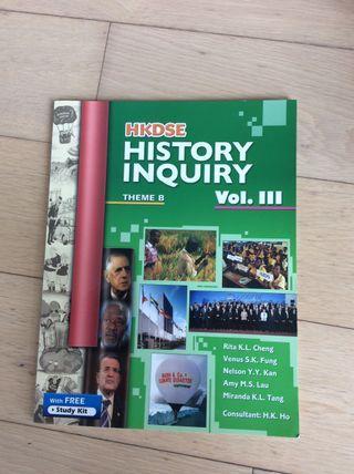 History 教課書