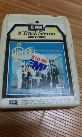 Cartridge 8 track katrij Instrumental / Lagu