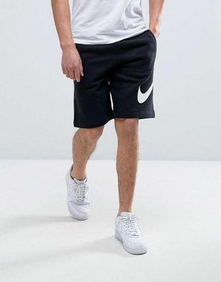 Nike大LOGO全綿短褲 質地超舒服