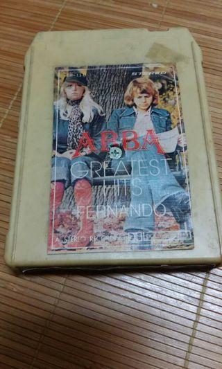 Cartridge 8 track katrij ABBA Greatest hits