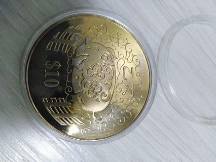 🚚 Zodiac coin in box