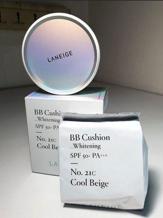 Laneige BB Cushion Whitening SPF50+ PA++ (REDUCE PRICE TO CLEAR!!)