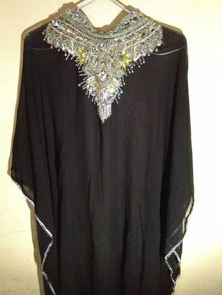 Black Kaftan (made in india)