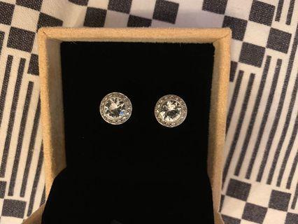 Swarovski stud earrings (authentic)