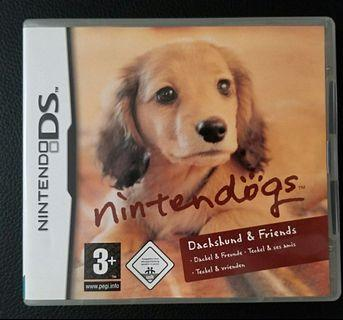 歐版 NDS 任天狗有盒 Original NDS European Nintendog Dachsund & Friends