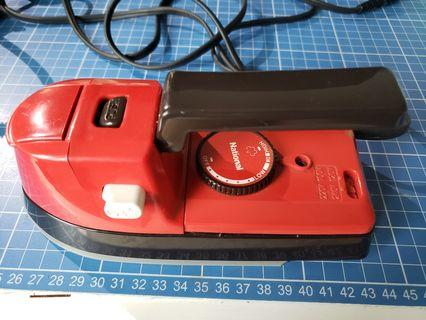 National travel iron made in Japan 日本製日立 熨斗