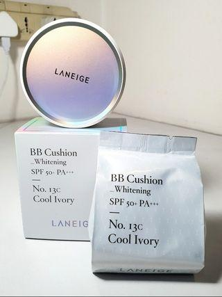 Laneige BB Cushion Whitening No.13C (REDUCE PRICE TO CLEAR)