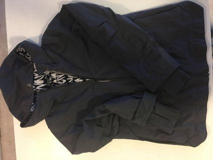Girls size 8 (US), Lulu Lemon/Ivivva brand rain jacket